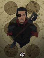Deadshot: Will Smith by Ptratux