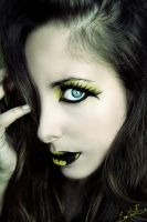 Batman inspired makeup by Chuchy5