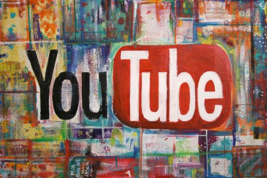 YouTube Painting by valsartdiary