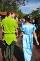 Peter and Wendy by Tumble-monkey