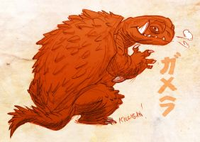 Gamera! by killigann