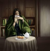 Better late than never - Snape by Leona-Norten