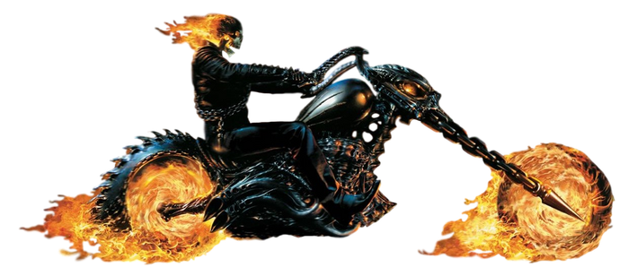 Ghost Rider - Transparent! by Camo-Flauge