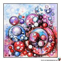 Abstraction Chaotic Circles by lazy-brush