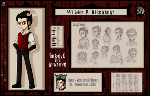 StS: Wilson Character Chart by Aileen-Rose