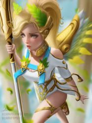 MERCY Winged Victory - Overwatch by Lolliedrop