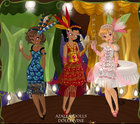 Pixie Flappers by Taiya001