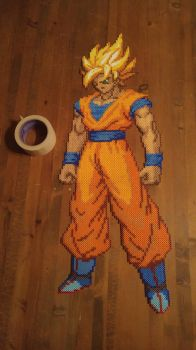 Super Saiyan Goku by Craeter