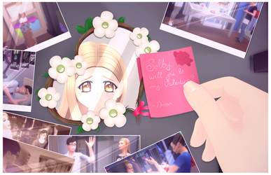 The Sims 4: Will you be my Valentine? (ver. 2) by SimsValeria