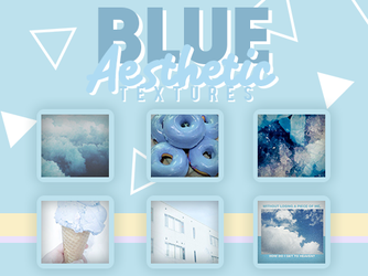 BLUE AESTHETIC TEXTURES by SabDesings
