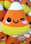 Winking candy corn by The-Cute-Storm