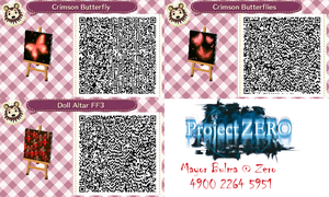 Various FF QR Codes for Animal Crossing: New leaf by TeenBulma