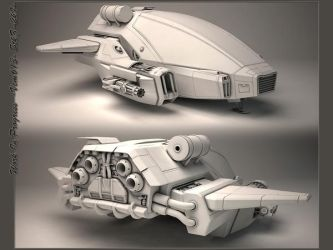 Concept Spaceship by StkZ613