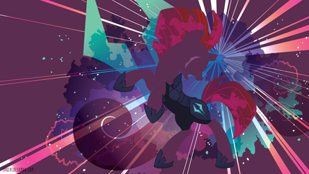 Tempest Shadow Silhouette Wall by SambaNeko