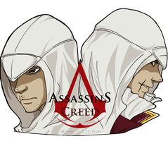 Assassins Creed colored by Vilmy