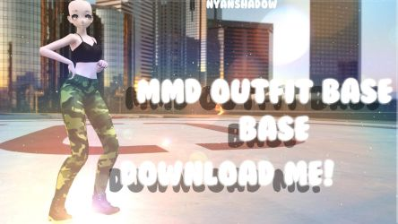 -MMD Outfit Base #3 - DOWNLOAD! by NyanShadowYT