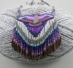 Falcon at Dusk - Tribal Woman Collection by Tau-riel