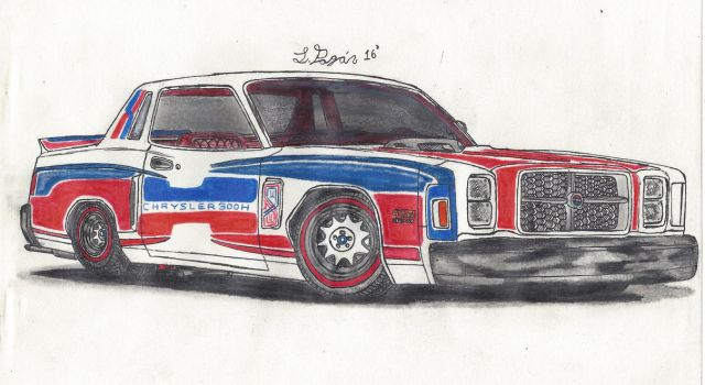 78' Chrysler 300H 426 by Mister-Lou