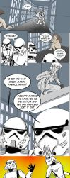 Bare Squadron comic strip commission by jay042