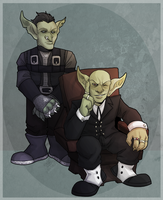 Copperwell and Rusty by NEOmi-triX