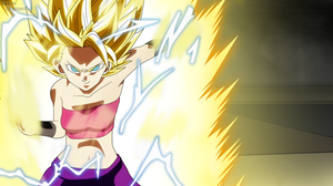 Dragon Ball Super - Caulifla SSJ2 by razorzeshu