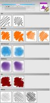 Aldys Brush Pack for Krita 2.3.1 by al-dy