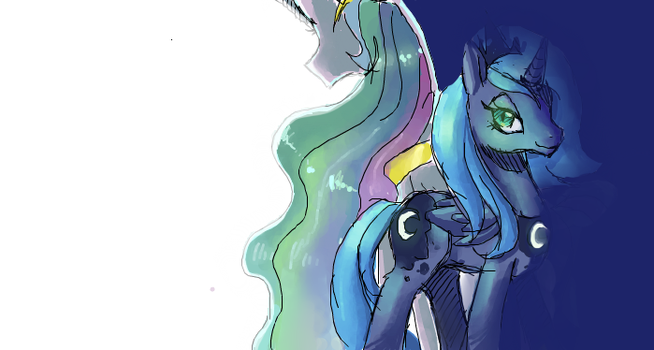 differences aside by blu-red