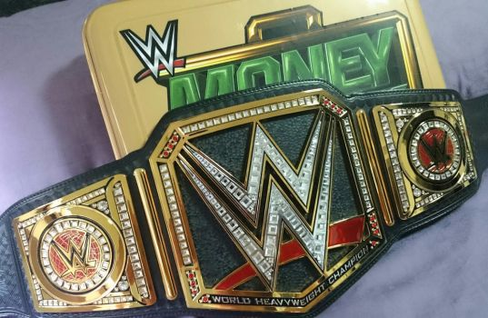 WWE WORLD HEAVYWEIGHT CHAMPIONSHIP by imranbecks