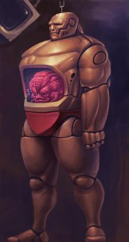 Krang redesign by PitBOTTOM