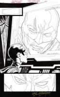 TEEN TITANS #91 PG 20 ROBIN-RED ROBIN SPLASH Sold by DRHazlewood