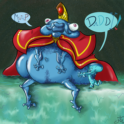 His Highest Majesty King Zora King of the Zoras by The-Bradshacalypse