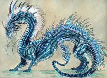 Dragon of Mist and Frost by Isvoc