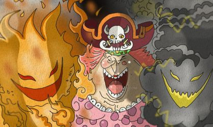 One Piece Chapter 843+ BigMom Zeus Power