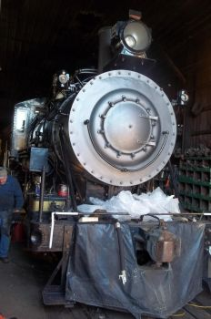 Saginaw Timber #2 gets some time in the shop by PRR8157