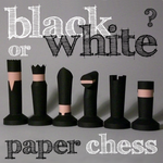chess set papercraft by MerlinTheRed