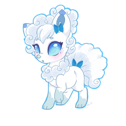 Snowbell by Silent-Shadow-Wolf