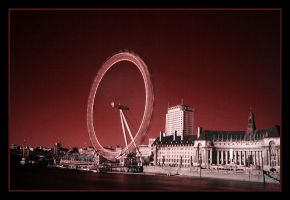 The Spin of London Wheel by ahmedwkhan