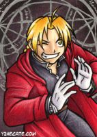 ATC Edward Elric by y2hecate