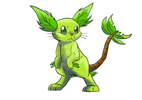 Fakemon: Bunopy by LetterBomb92