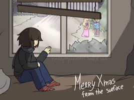 Merry Christmas, Frisk by Kaitogirl