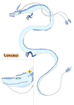 Planes VS Dragons 3rd Product: Longwei by NyinxDeLune