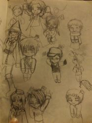 hetalia doddle by Chibiklompen