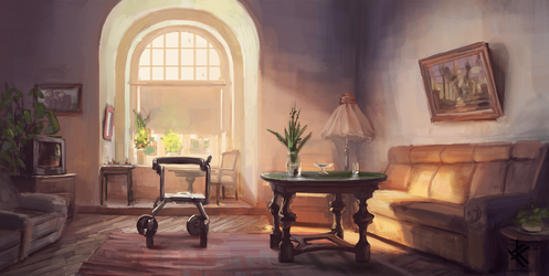 Her Room by Chris-Karbach