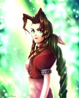 Aeris Gainsborough - The Last Cetra by Midorisa