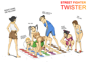 Street Fighter Twister by ShinigamiRyuku