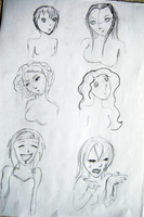 Expression Sketch 2 by Churichan
