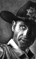 Officer Rick Grimes by shonechacko