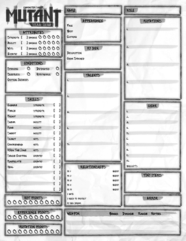 MY0 Custom Sheet by Tensen01