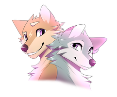 Kem and Cristal [Gift] by CristalWolf567