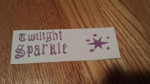 Twilight Sparkle Bookmark by NightPrincessLuna